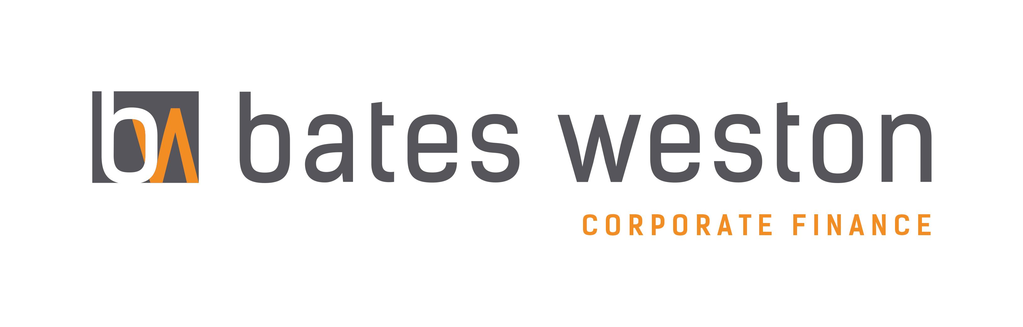 Bates Weston Corporate Finance logo
