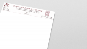 DPC Letterhead from their 50th year