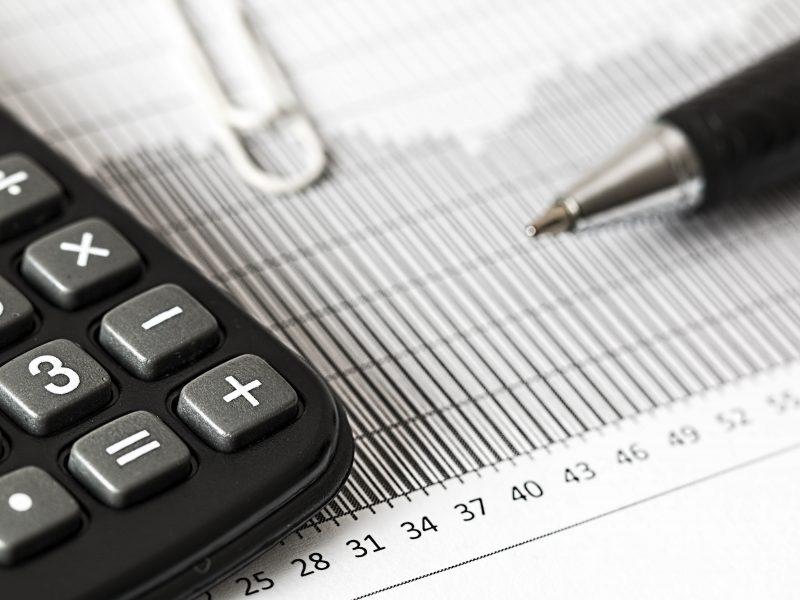 Calculator and tax