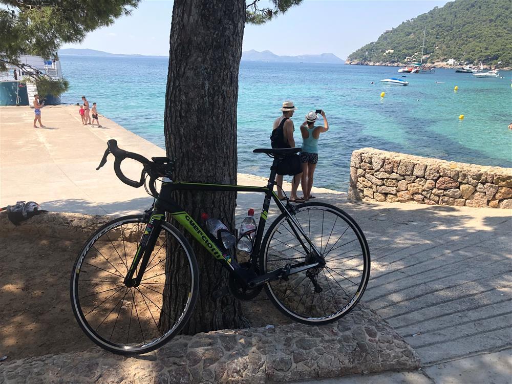 Simon Owen's bike